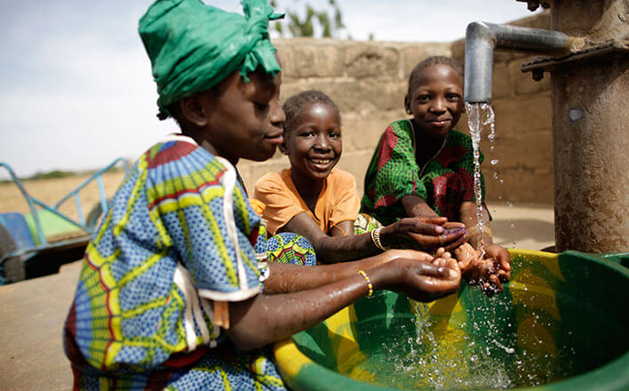 WaterAid action in Mali