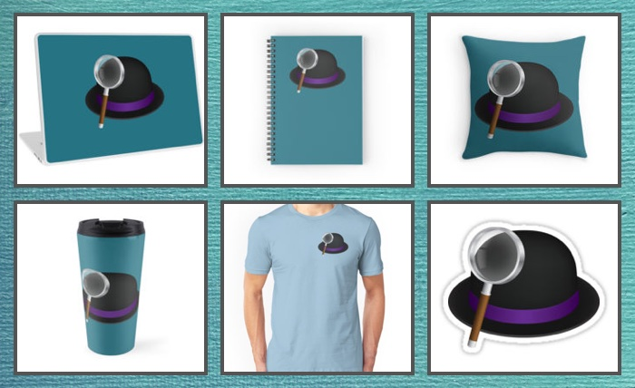 Alfred goodies on RedBubble