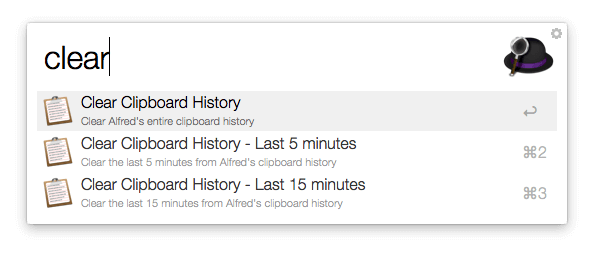 Clear Clipboard History