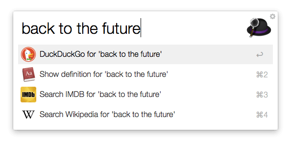 Fallback Search - Back to the future