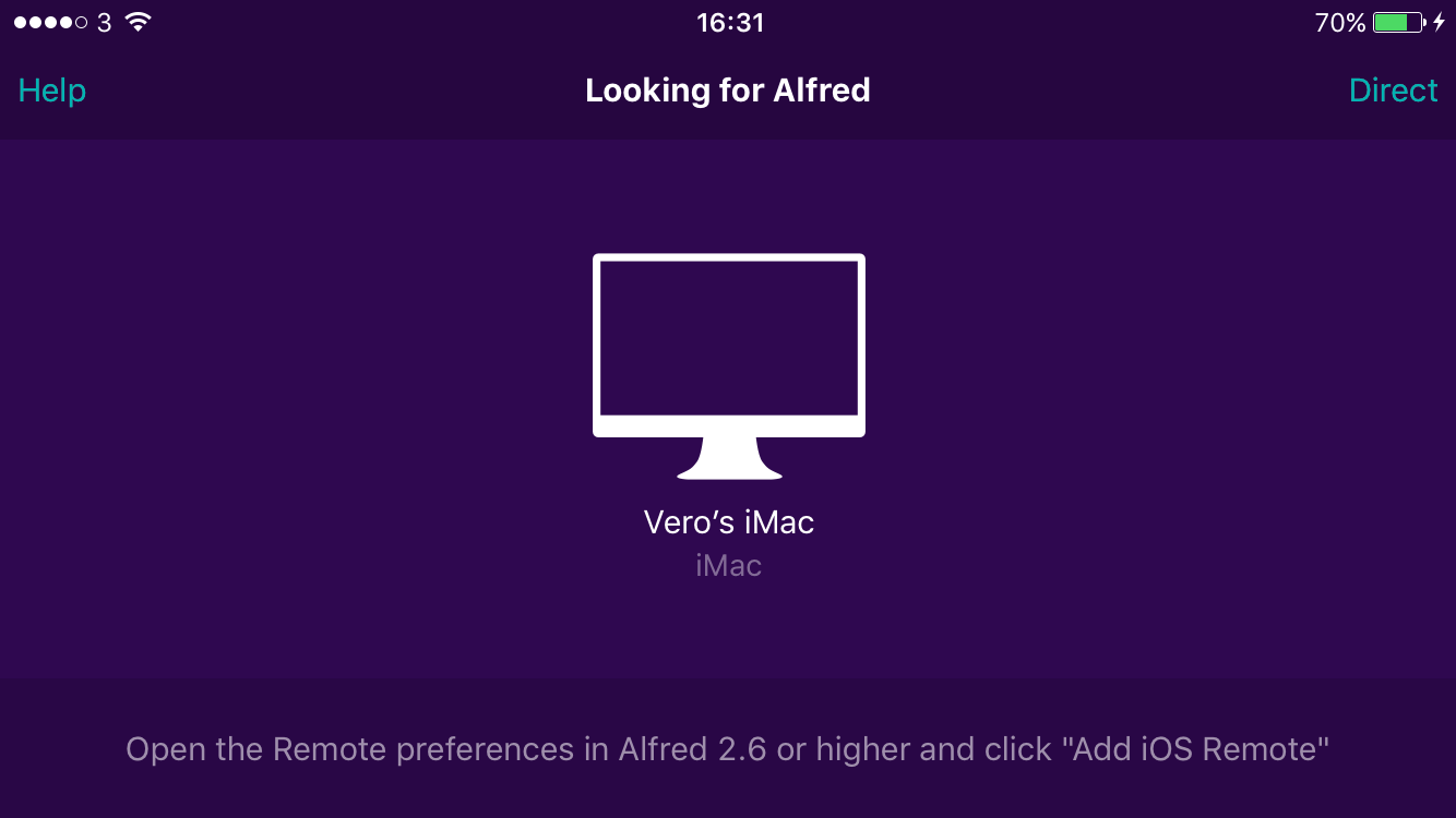 Setting up Alfred Remote - Alfred Help and Support