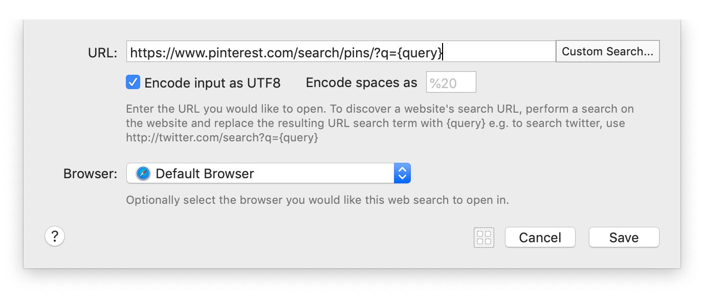 Url Helper Mac