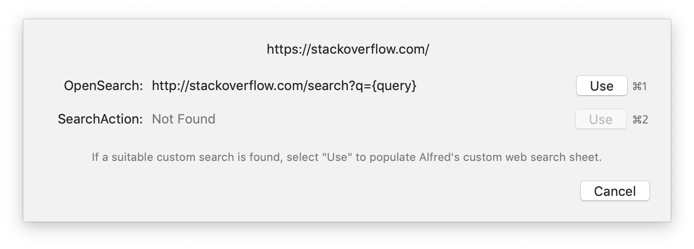 Using Open Search on Stack Overflow